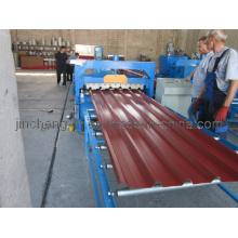 Máquina formadora de rolo de telha de aço