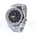 Stainless steel watch Quartz Stainless Lasted wrist watchluqixuan