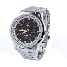 स्टेनलेस स्टील घड़ी क्वार्ट्ज स्टेनलेस स्थायी wrist watchluqixuan