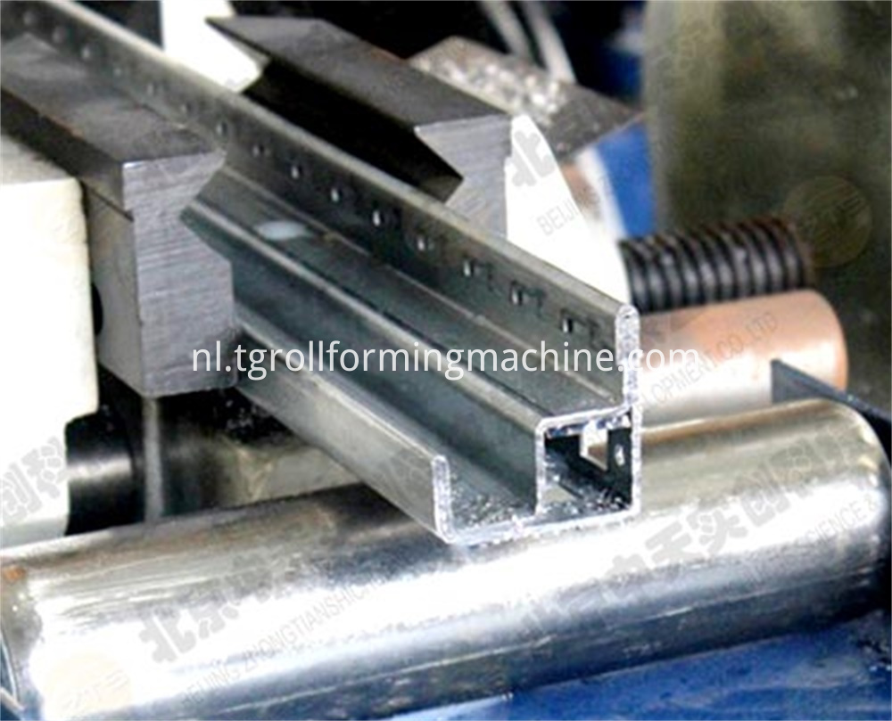 Electric Cabinet Rack Roll Forming Machine
