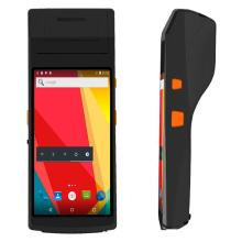 "5.5"" Handheld Android PDA Scanner with printer"