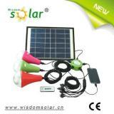 High quality portable led solar home lighting system solar lamp