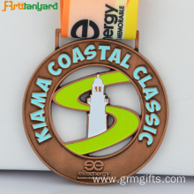 Custom Medal Maker With Custom Ribbon