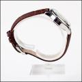 ladies high quality japan miyota watch leather brown