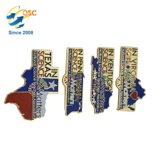 Hot Style Souvenir Soft Enamel Custom Metal Lapel Pin