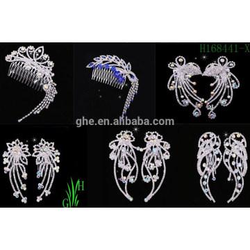 Atacado Cheap Bridal Queen Crowns e Tiaras Jewelry Tiaras