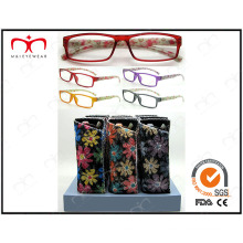 Óculos de leitura para senhoras venda de moda e quente (MRP21673)