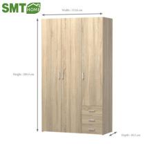 Moderne einfache Garderobenausführungen aus Holz
