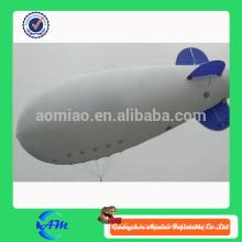 Hélio inflável blimp para venda inflável míssil gigante balão inflável para publicidade