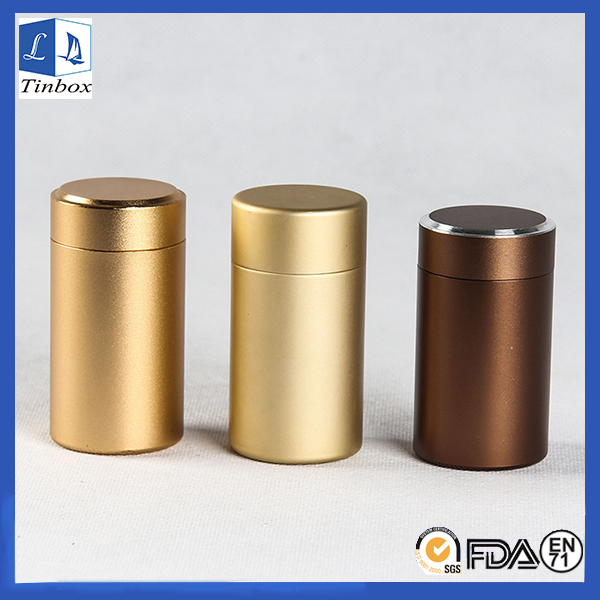Aluminum Tea Tins With Lid
