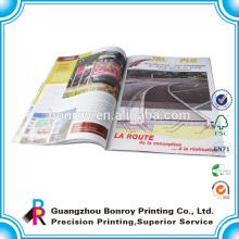Impresión de libros de perfil de la empresa del cliente