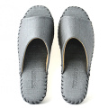 Man Indoor Slippers Pansy Room Wear Soft Comfort Shoes