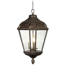 House Decor Traditional Outdoor Pendant Lighting Grey Color Antique Metal Fixture Hanging Lamps