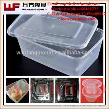 injection molding companies manufacturing tableware case mould/OEM custom plastic injection mold for tableware case