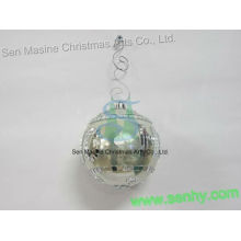 polished mirror ball rotating smooth party decoration