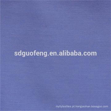 Sólido 100% do tecido de algodão tingido 32 * 32 130 * 70