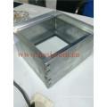Air Conditioner Parts Alumínio Steering Rectangular Opposed Damper Lâmina Como Controle Universal Roll Forming Machine Fornecedor Vietnã