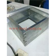 Alumínio Automaticamente Não Retornar Shut-off Damper para ar condicionado Ventilação Roll formando fazendo máquina Tailândia