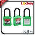 38mm Plastic Short Shackle Safety Padlock