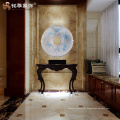 Decoración redonda interior escultura abstracta para la oficina