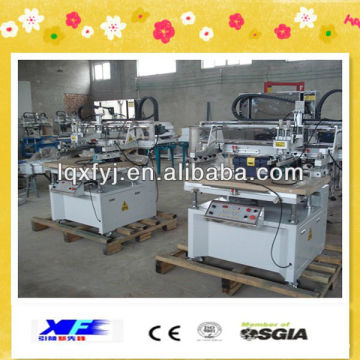 Horizontal-lift xf-5070 flat precision silk screen printing machine price