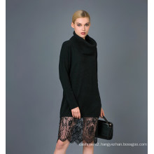 Lady′s Fashion Knitted Dress 17brpv060