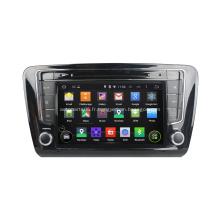 2 Din pour Skoda Octavia Steering Wheel Android