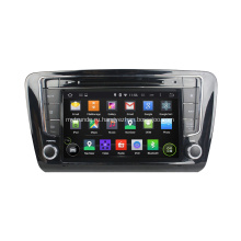 2 Din для Skoda Octavia Steering Wheel для Android