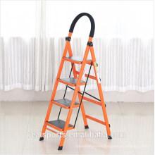 New Design Step Ladder Multi-use Four Steps Folding Ladder Household Aluminum Ladder