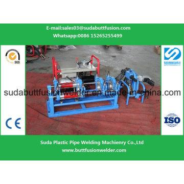 Machine de soudure hydraulique de soudure bout à bout pour des garnitures de tuyau de HDPE de 160mm