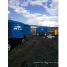 Atlas Copco Liutech Compresor de Aire Diesel de Alta Presión