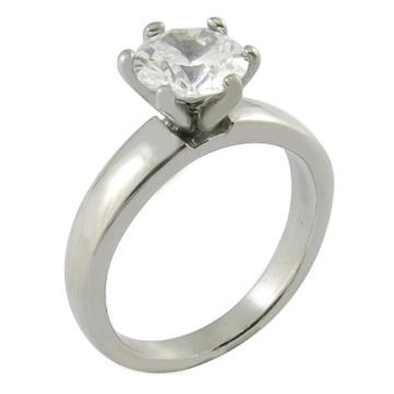 Anel de casamento de imitação de casamento personalizado