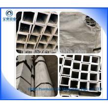 Tubos de aço laminados a frio, quadrados e retangulares