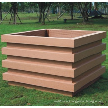 High Quanlity Wood Plastic Composite /WPC Flower Box1000*1000*650