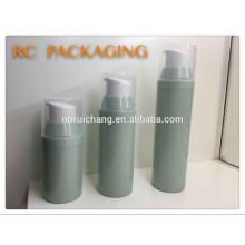 Nouveau modèle pp matériel bouteille airless cosmétique, 30ml / 50ml / 80ml bouteille cosmétique airless pump pour promotion