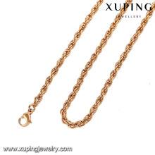 42949-Xuping gros bijoux élégants à longue chaîne collier
