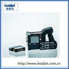 máquina de impressão Handheld pequena portátil do código de barras do Inkjet