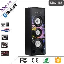 BBQ KBQ-165 25 Watt 3000 mAh 2016 Heißer Verkauf Wireless Tower Heimkino Lautsprecher