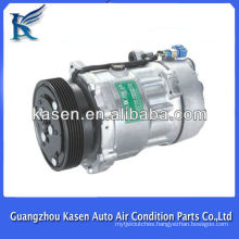Sanden SD7V16 auto compressor for VW CADDY II GOLF III POLO PASSAT4 SHARAN VENTO FORD GALAXI SEAT ALHAMBRA AROSA CORDOBA