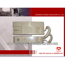 elevator intercom for schindler / elevator parts for sale /mechanical spare parts
