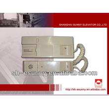 intercomunicador de elevador para schindler / elevador peças para venda /mechanical peças de reposição