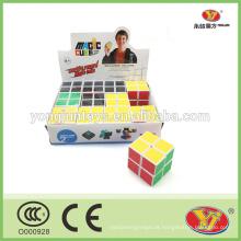 Custom OEM 2x2 mágico cubo cubos mágicos quebra-cabeças com caixa de exibição