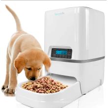 Mangeoire pour animaux de compagnie automatique avec caméra