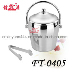 Stainless Steel Handle Ice Barrel (FT-0405)