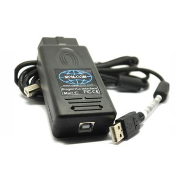 Mpm COM automotive scanner diagnostic Tool for Opel, Ford, FIAT, Alfa, Lancia, Nissan, Citroen, Peugeot, Renault, Mercedes Benz, Mazda, Audi,Skoda, Volkswagen