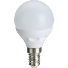Cerámica de LED bombilla G45 2835SMD 4.5W E14 de 396lm AC100 ~ 265V