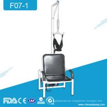F07-1 Silla de tracción reclinable para vértebras cervicales hospitalarias