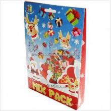 Weihnachten 3d Puzzle Malerei Handwerk, Kinder Kinder handgemachte 3D-Puzzle