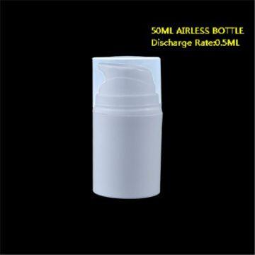 50ml White Airless Bottle for Pharmaceutical Packaging