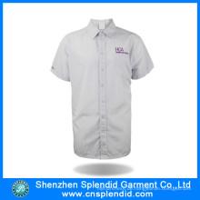 China produziert Streifen weißes Hemd für Männer